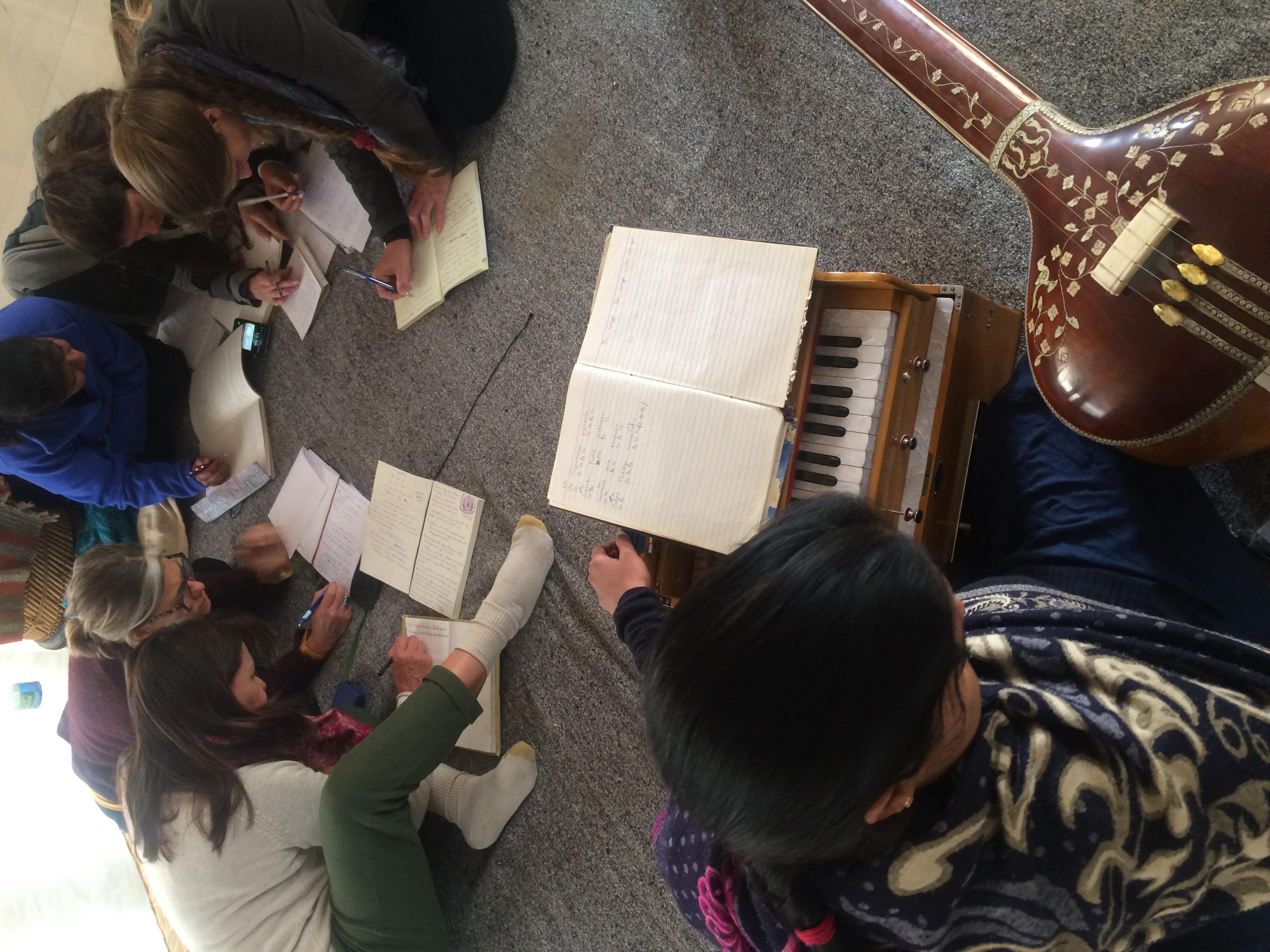 Clases de música clásica de la India