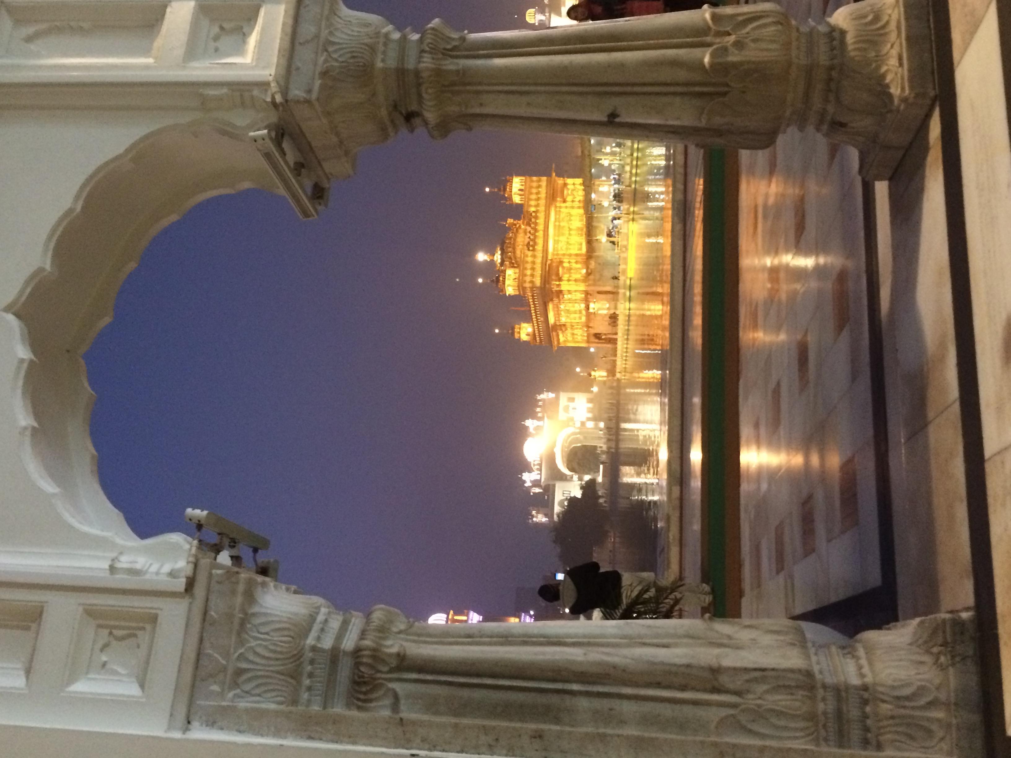 Visitas al Templo Dorado.