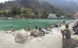 Meditacion y Ofrenda al Ganges