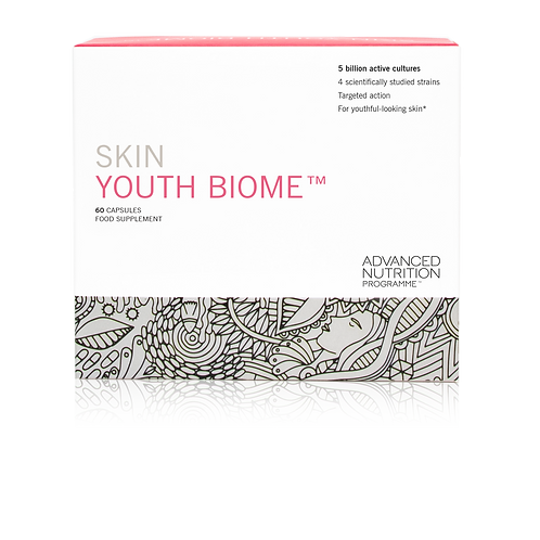 ADVANCED NUTRITION PROGRAMME SKIN YOUTH BIOME - 60 CAPSULES