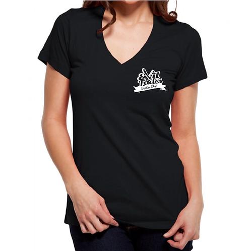 Women's Evil Fade V - Neck shirt