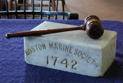 Boston Marine Society Gavel & Ashlar