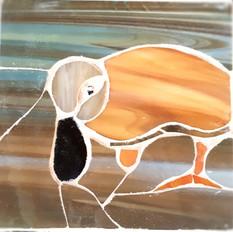 Curious duck mosaic £35