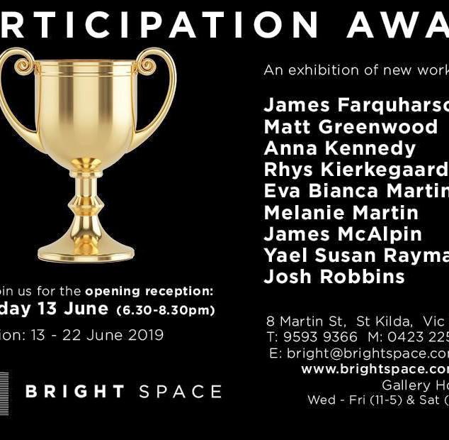 Participation Award invite