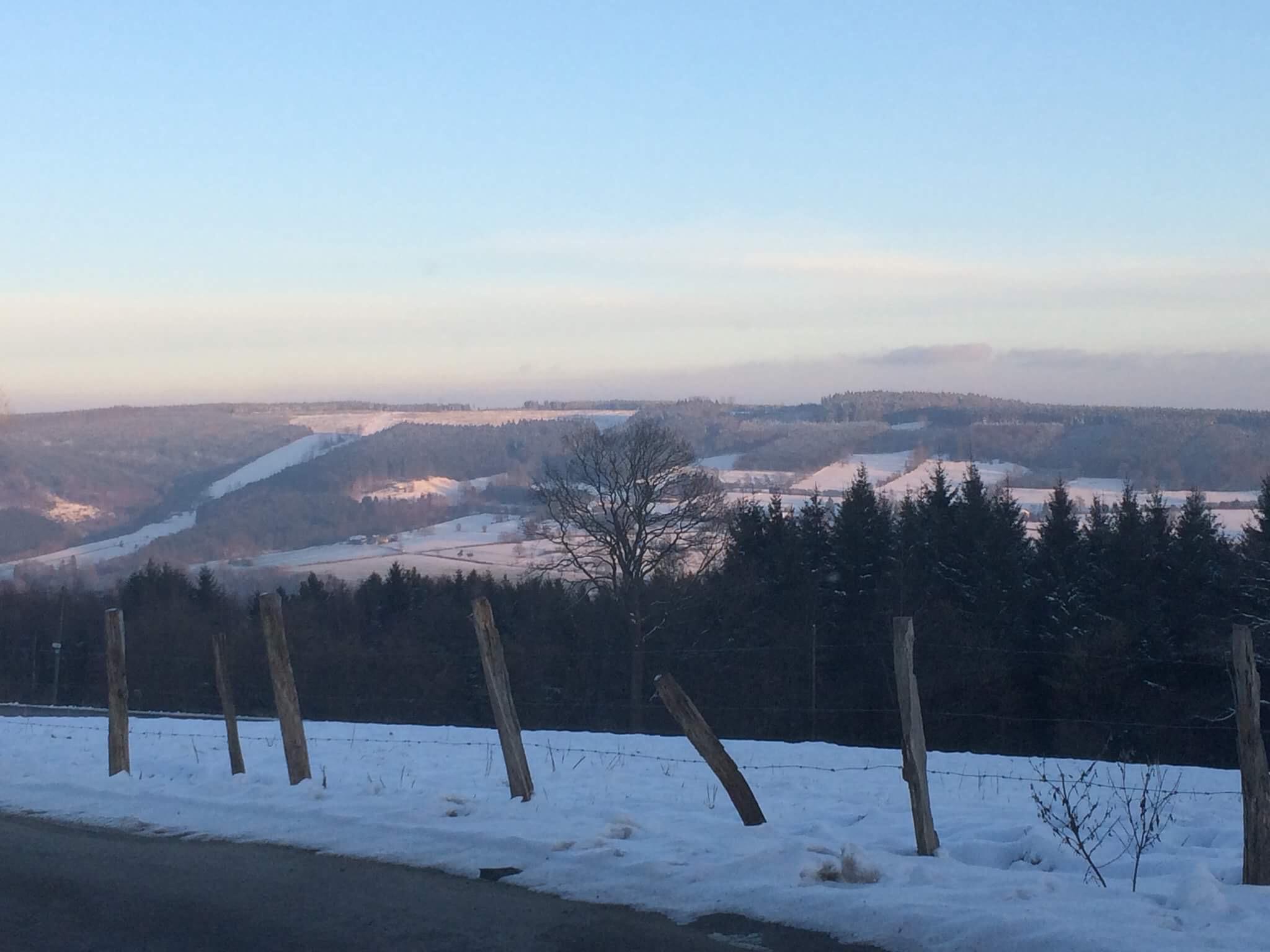 L'hiver dans notre jolie campagne