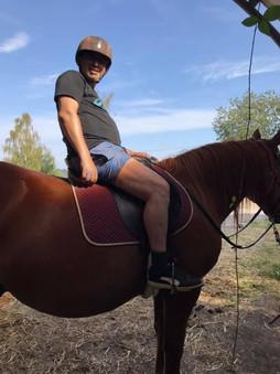 A dos de cheval