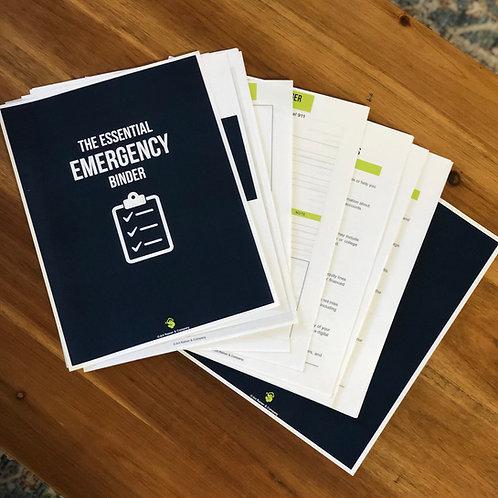 The Essential Emergency Binder (PDF)