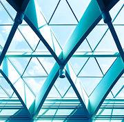 Escritório com Triângulo do Windows