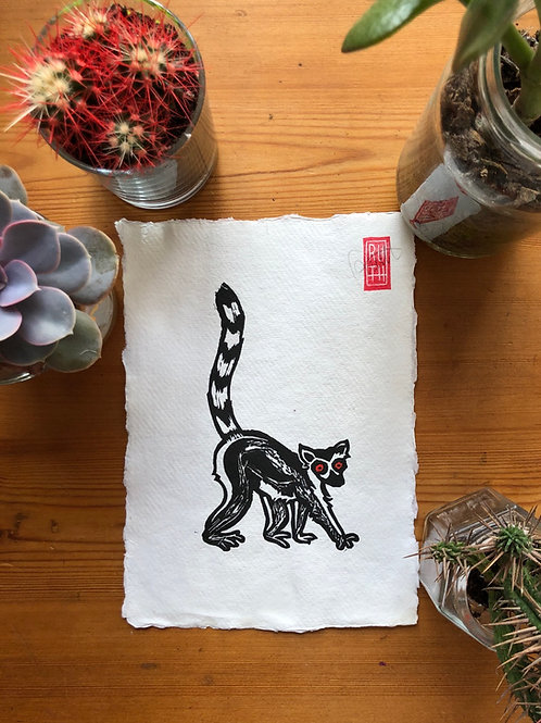 A5 print - Lemur