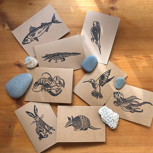 A5 card bundle - PACK OF 8