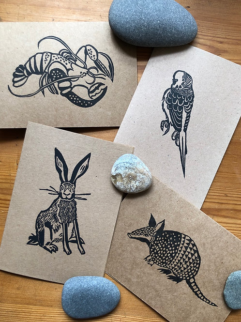 A5 card bundle - PACK OF 4