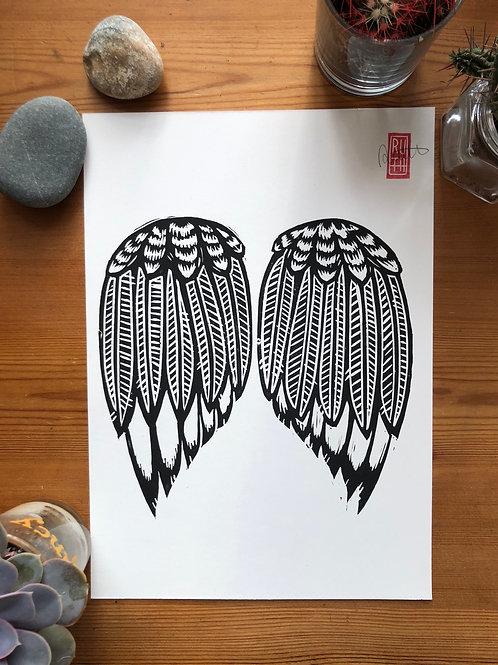 Wingin' It A4 print