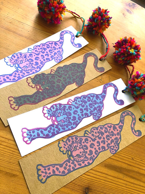 Leopard bookmark