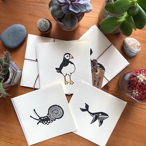 Mini square card bundle