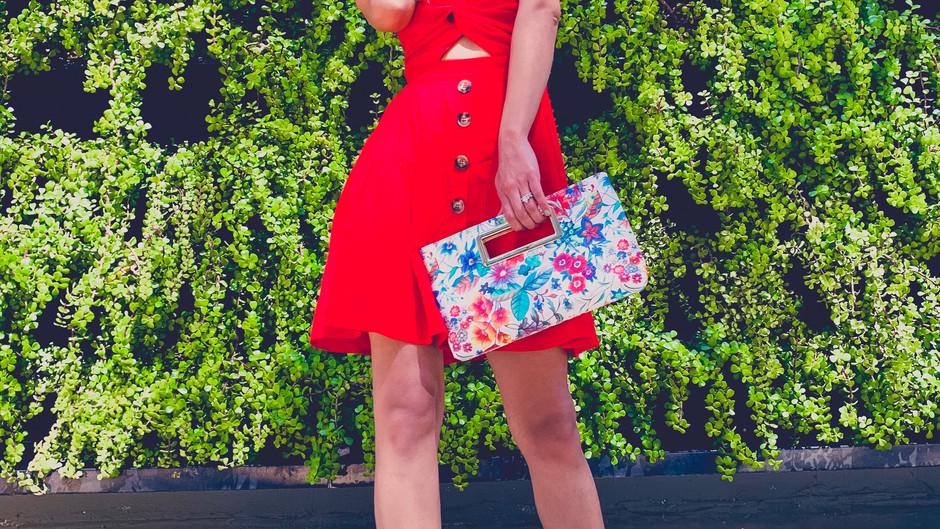 Little Red Summer Dress