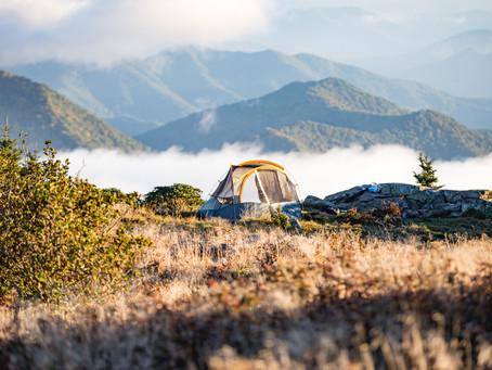 Куда поехать осенью с палаткой в Украине?