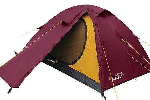 Туристическая палатка Terra Incognita Platou 3/3 Alu