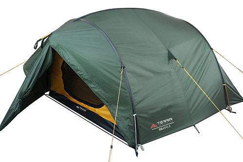 Туристическая палатка Terra Incognita Bravo 2/2 Alu