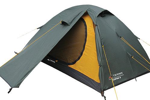Туристическая палатка Terra Incognita Platou 2/2 Alu