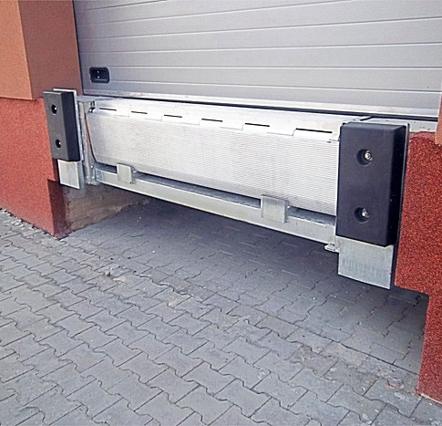 Rampa elettroidraulica alluminio