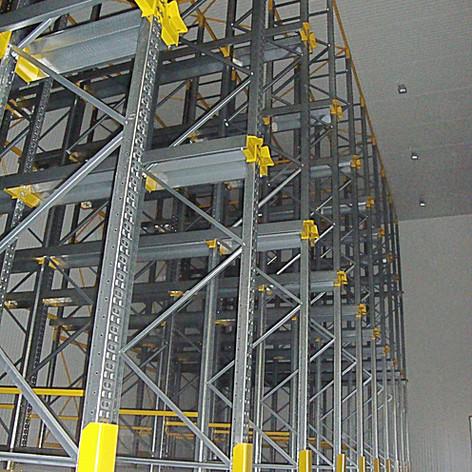 Impianto drive-in in cella frigo