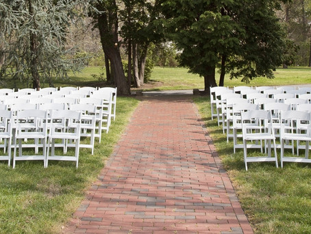 Did you know we offer AWESOME seating, tents, and equipment for Weddings and Receptions?