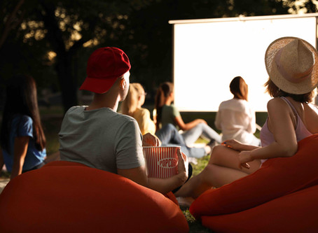 Movie Night with a Backyard Twist