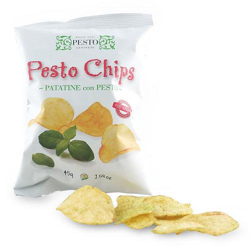 Pesto Chips, le patatine con il pesto Rossi 1947