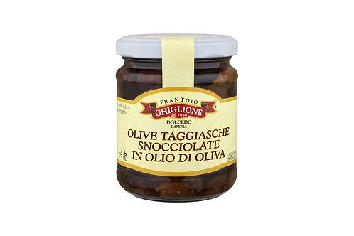 Olive Taggiasche in olio di oliva gr.1000
