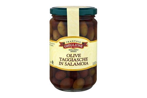 Olive Taggiasche in salamoia gr.1000