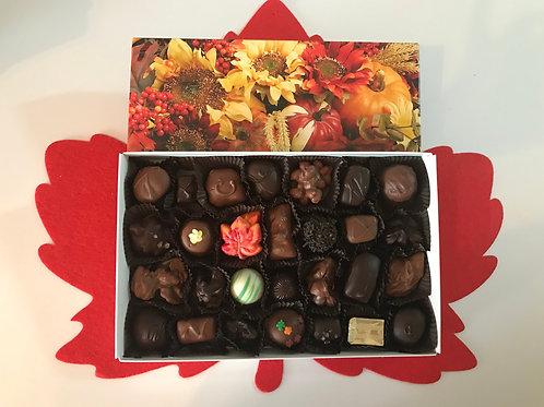 Assorted Chocolates (Fall Box) (28 Pcs.)