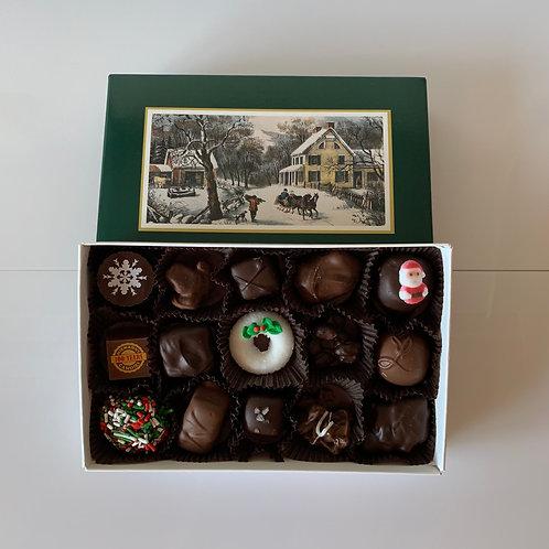 Holiday Assorted Chocolates (15 Pcs.)