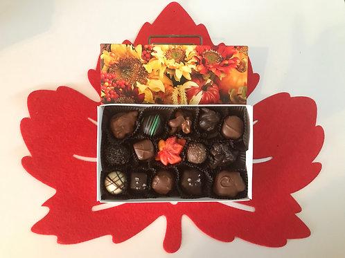 Assorted Chocolates (Fall Box) (15 Pcs.)