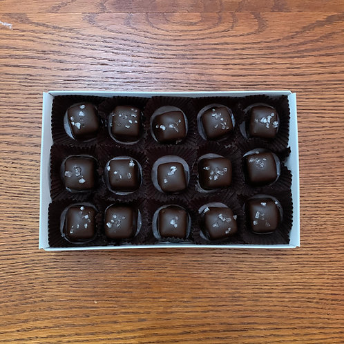 Sea Salt Caramels (15 Pcs.)