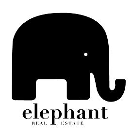 Elephant Logo 2019 cuadrado trans black.