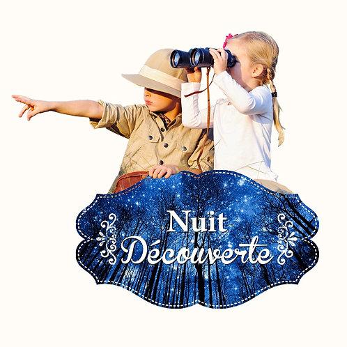 """""""Nuit Découverte"""" à partir de 115 €"""