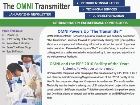 """A Look Back at our First """"Omni Transmitter"""" Newsletter"""