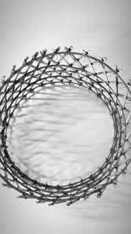 modeled as a circular lattice