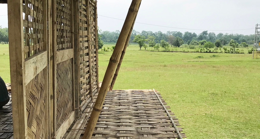 deck for boats to access shelter during floods