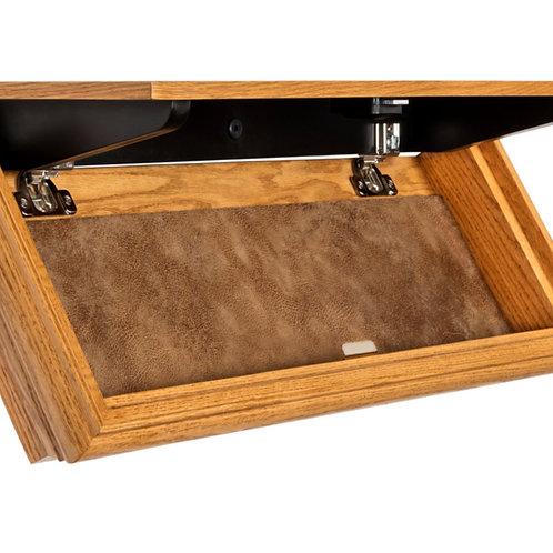 Slimline LedgeLocker - Oak Traditional