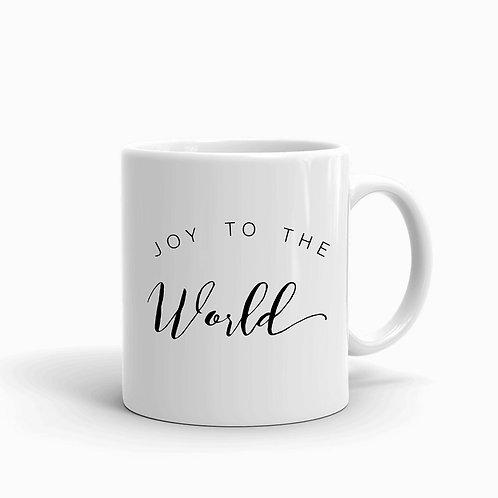 """""""Joy To The World"""" Christmas Mug"""