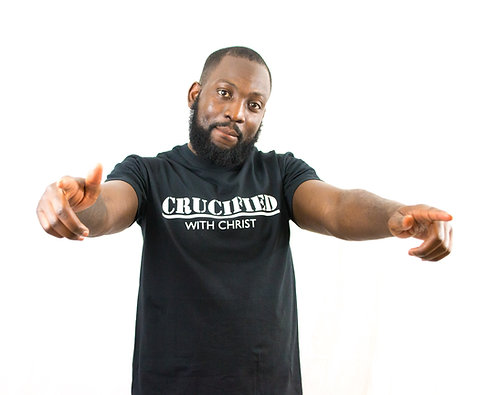 """Crucified with Christ"" T-Shirt"