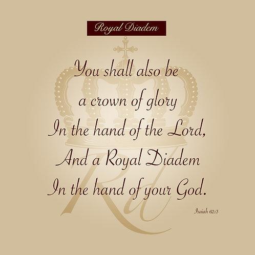 Isaiah 62v3 Canvas