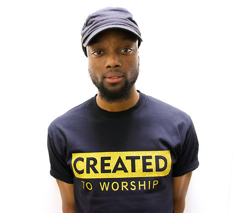"""Created To Worship"" T-Shirt"