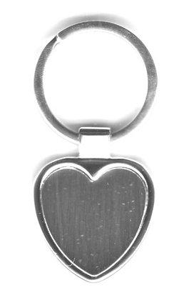 Porte clés coeur avec prénom offert