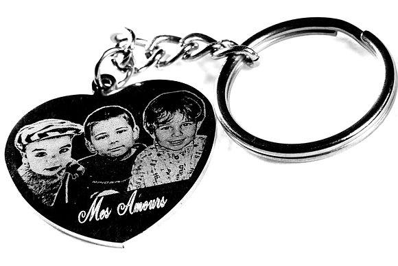 PC15 Porte clés coeur