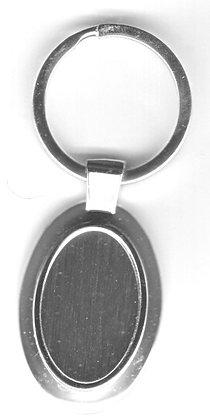 Porte clés ovale avec prénom