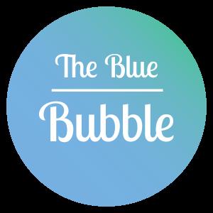The Blue Bubble Logo.