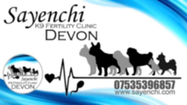 Sayenchi K9 Fertility Clinic Devon Banne