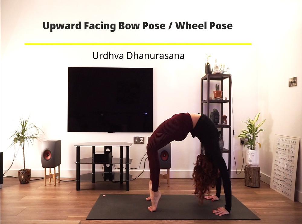 Urdhva Dhanurasana, Chakrasana